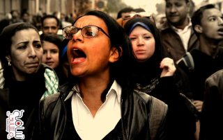 ماهينور المصري مناضلة تقدمية