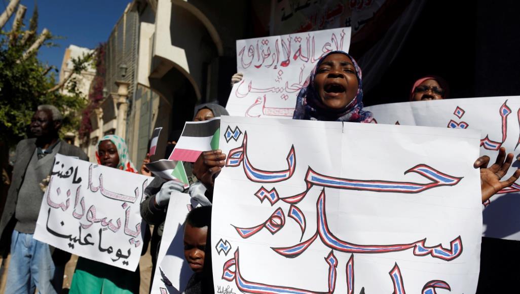 النساء في طليعة التعبئة في السودان